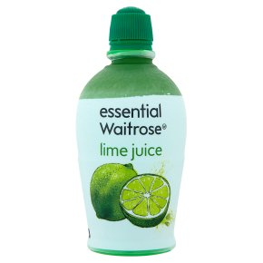 essential Waitrose lime juice