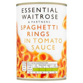 essential Waitrose Spaghetti Rings