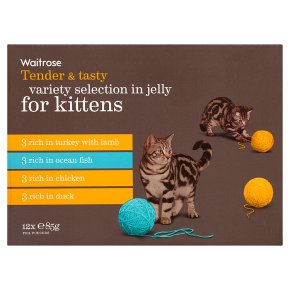 Waitrose kitten special recipe selection