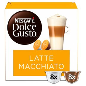 Nescafé Dolce Gusto latte macchiato coffee pods 8 drinks