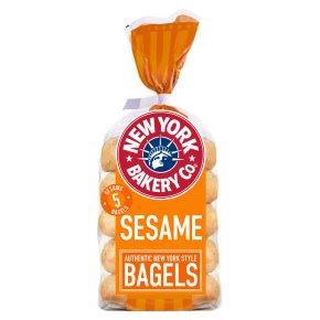 New York Bakery Co. Sesame Bagels