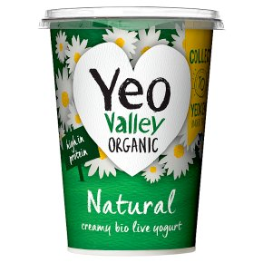 Yeo Valley organic natural yogurt