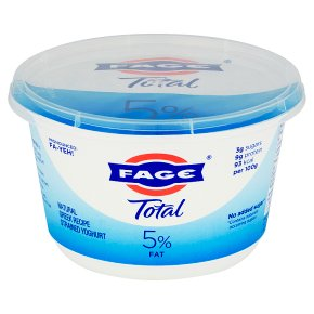 Total Greek strained natural yoghurt