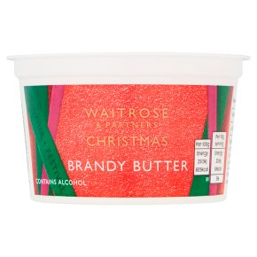 Waitrose Christmas brandy butter