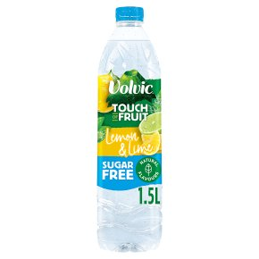 Volvic sugar free touch of fruit lemon & lime
