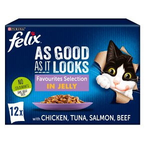 Felix Cat Food Favourites Selection