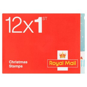 Christmas stamps 1st class