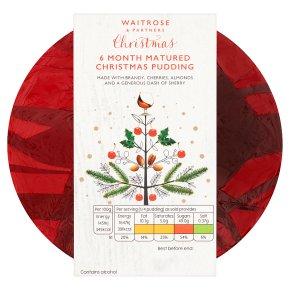 Waitrose Christmas 6 Month Matured Christmas Pudding