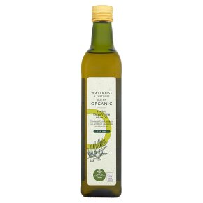 Waitrose Organic 100% Italian Extra Virgin Olive Oil