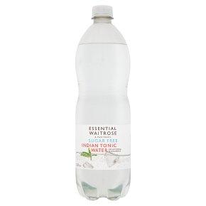 essential Waitrose sugar free indian tonic water