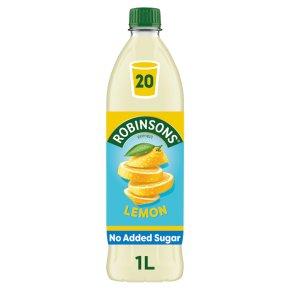 Robinsons no added sugar lemon squash
