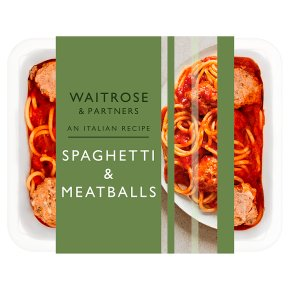 Waitrose Italian Spaghetti with Meatballs