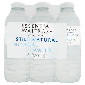 essential Waitrose still natural mineral water