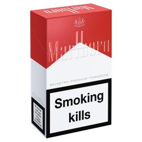 Marlboro red cigarettes