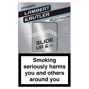 Lambert & Butler king size cigarettes