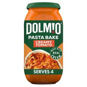 Dolmio Pasta Bake creamy tomato sauce