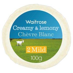Waitrose Chẻvre Blanc mild