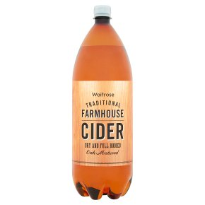 Waitrose traditional farmhouse strong dry cider