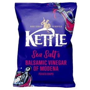 Kettle Chips Salt & Balsamic Vinegar Crisps