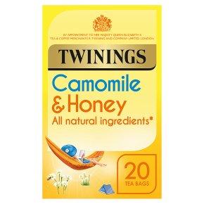 Twinings camomile, honey & vanilla 20 tea bags