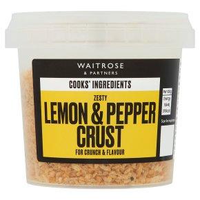 Waitrose Cooks' Ingredients lemon & pepper crust