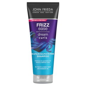 Frizz-ease curl around shampoo