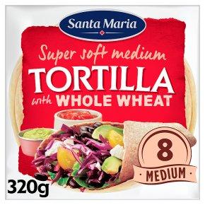 Santa Maria 8Wholemeal Tortillas