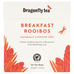 Dragonfly caffeine free rooibos breakfast 40 tea bags