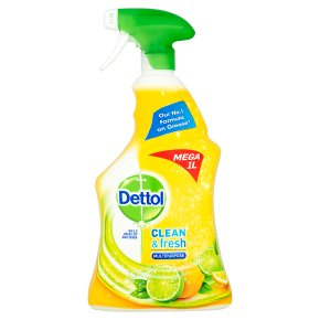 Dettol All in 1 multi-action cleaner spray, green apple