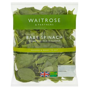 Waitrose Baby Spinach