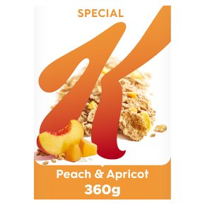 Kellogg's Special K Peach & Apricot Cereal