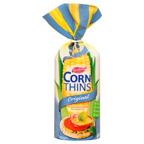 Real Foods original corn thins