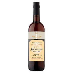 Waitrose Dry Amontillado Sherry