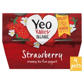 Yeo Valley Strawberry Yogurt