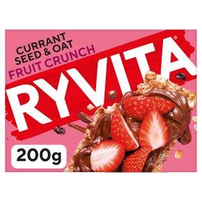 Ryvita fruit crunch crispbread