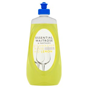 essential Waitrose lemon dishwasher rinse aid