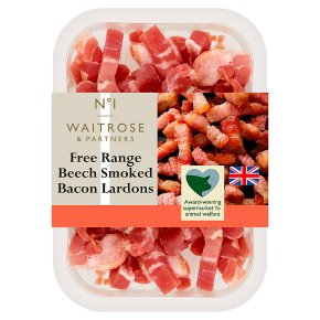No.1 Free Range Beech Smoked Bacon Lardons