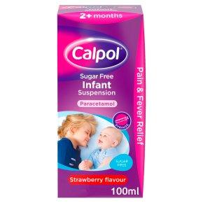 Calpol infant sugar free