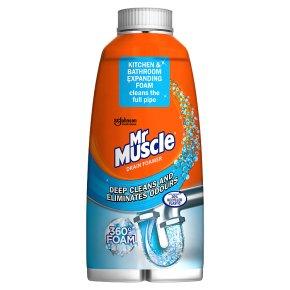 Mr Muscle sink & drain foamer