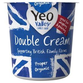 Yeo Valley organic double cream