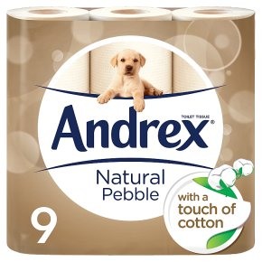 Andrex Natural Pebble Toilet Rolls