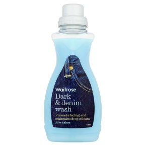 essential Waitrose dark wash biological liquid, 18 washes