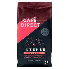 Cafédirect Fairtrade intense roast coffee