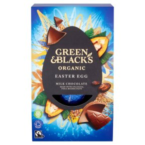 Green & Black's Organic Milk Chocolate Easter Egg