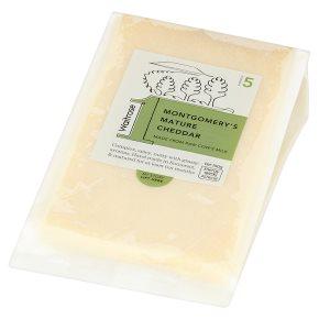 Waitrose 1 montgomery's mature cheddar cheese, strength 5