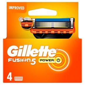 Gillette Fusion Power Razor Blades 4 count