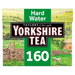Taylors of Harrogate Yorkshire hard water 160 tea bags