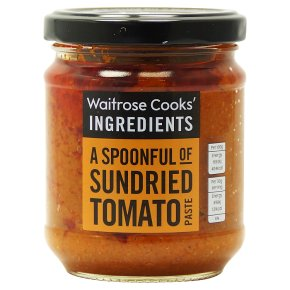 Waitrose Cooks' Ingredients sundried tomato paste