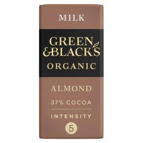 Green & Black's Milk Chocolate Almond