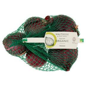 Waitrose Duchy Organic red onions